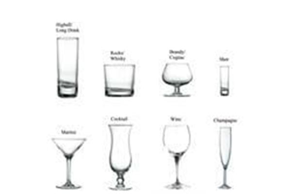 Liquor Glassware Types