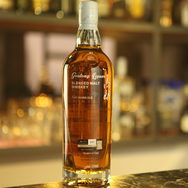 Goalong whisky de malta pur 5 anys 700ml 40% abv