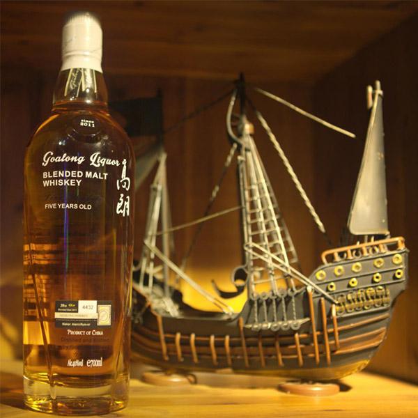 Goalong 5 il təmiz malt viski 700ml 40% abv