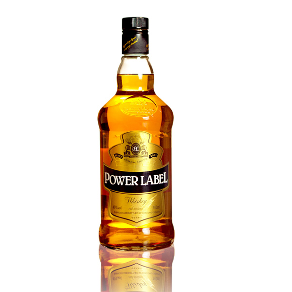 Goalong Power etiketi tahıl viski 700ml% 40 abv