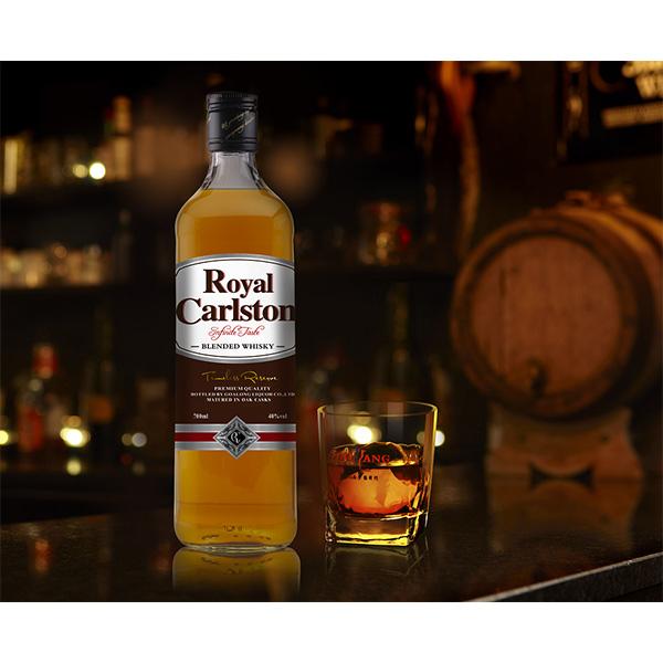 Goalong Royal Carlston qarışıq viski 700ml 40% abv