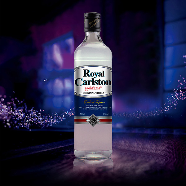 Goalong Royal Carlston blend whisky 700ml 40%abv