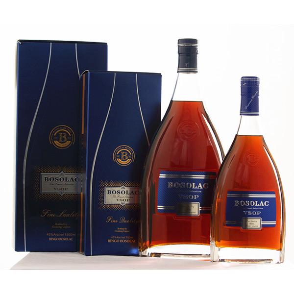 Bosolac brandy VSOP 700ml/1000ml/3000ml 40%abv
