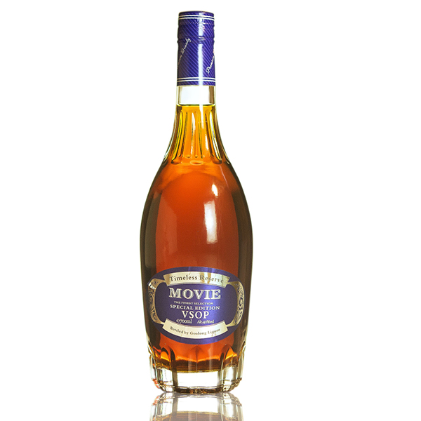 Goalong Movie VSOP brandy 700ml 40% abv