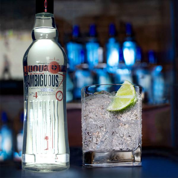 Dubbelsinnige vodka 700ml 40% abv