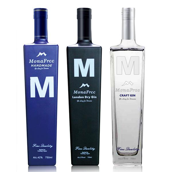 MonaFrcc Gin 750ml 37% abv / 42% abv / 47% abv