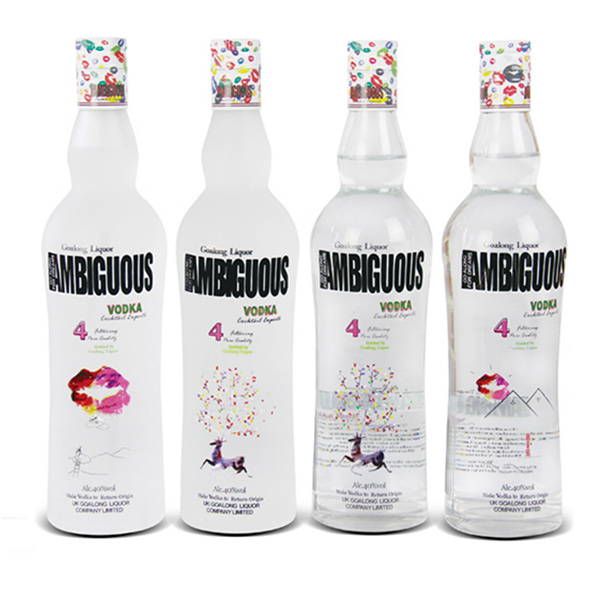 New Eddition Ambiguous vodka 700ml 40%abv