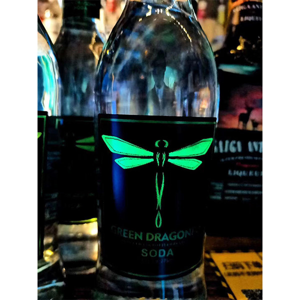 Green Dragonfly soda likeur 275ml 3.7% abv