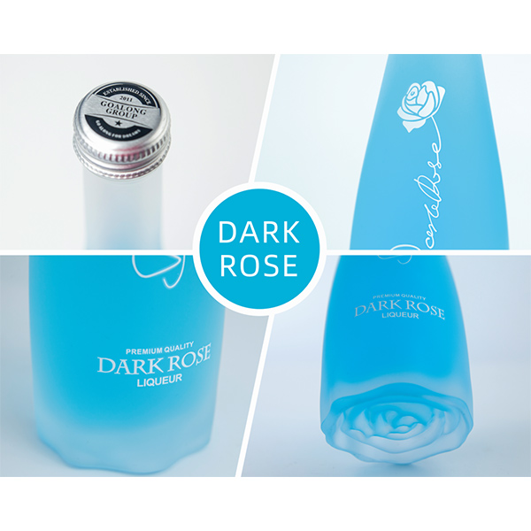Dark Rose sea salt lemon flavor liqueur 700ml/375ml 3.5%abv