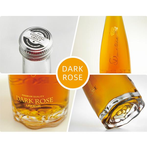 Licor de gust de litchi rosa fosca 700ml 23% vol / 13% abv