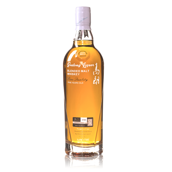 Goalong 5 years pure malt whisky 700ml 40%abv
