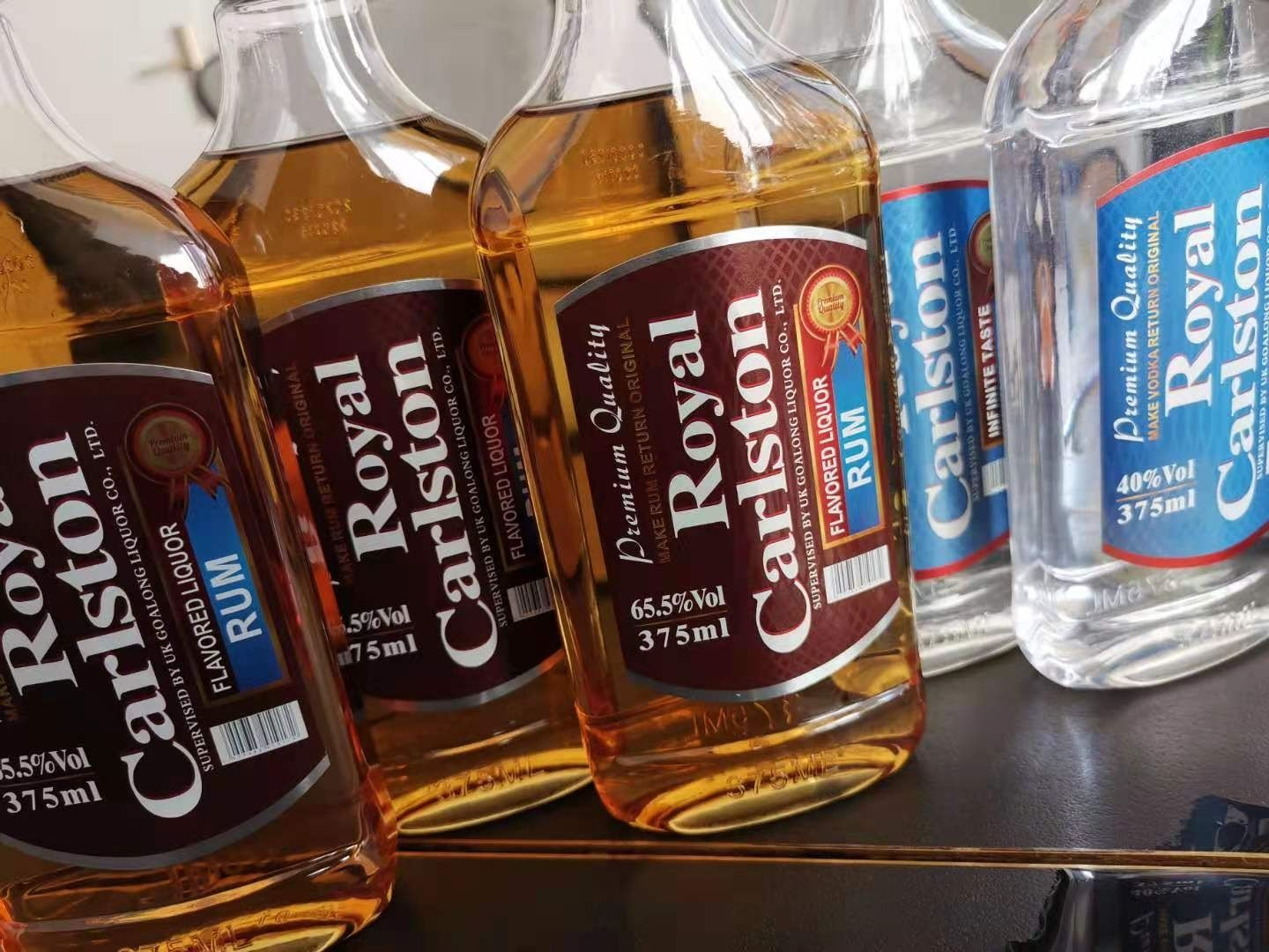 Royal Carlston Rum 375ml 65.5% abv