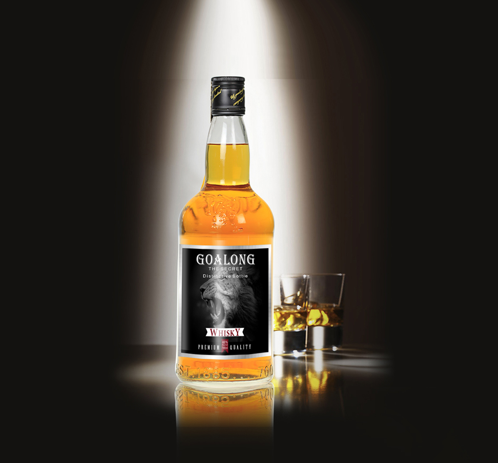 Goalong whisky spirits liquor 700ml 40%abv