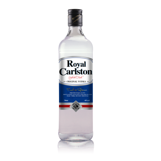 Goalong Royal Carlston vodka 700ml 40%abv 700ml 40%abv